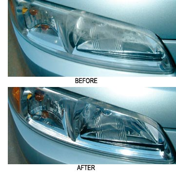 The Diamondite Clear Plastic Kit for Professionals corrects up to 25 pairs of headlights!